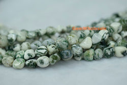 5~7mm Tree agate pebbles beads