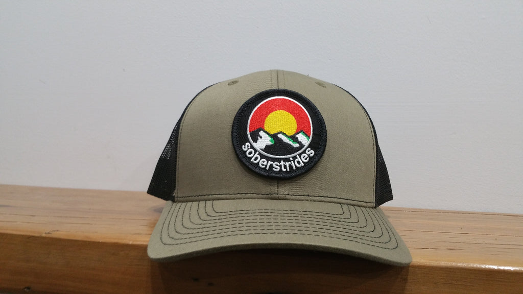 Sober Strides Trucker Cap - HillBilly Endurance