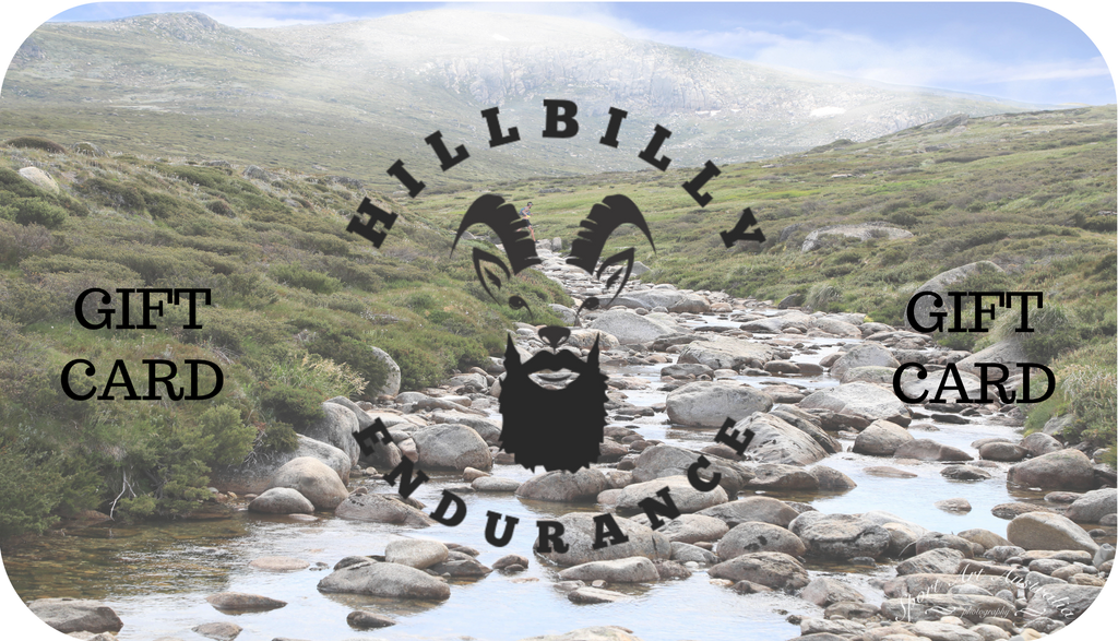 Hillbilly Endurance Gift Card - HillBilly Endurance