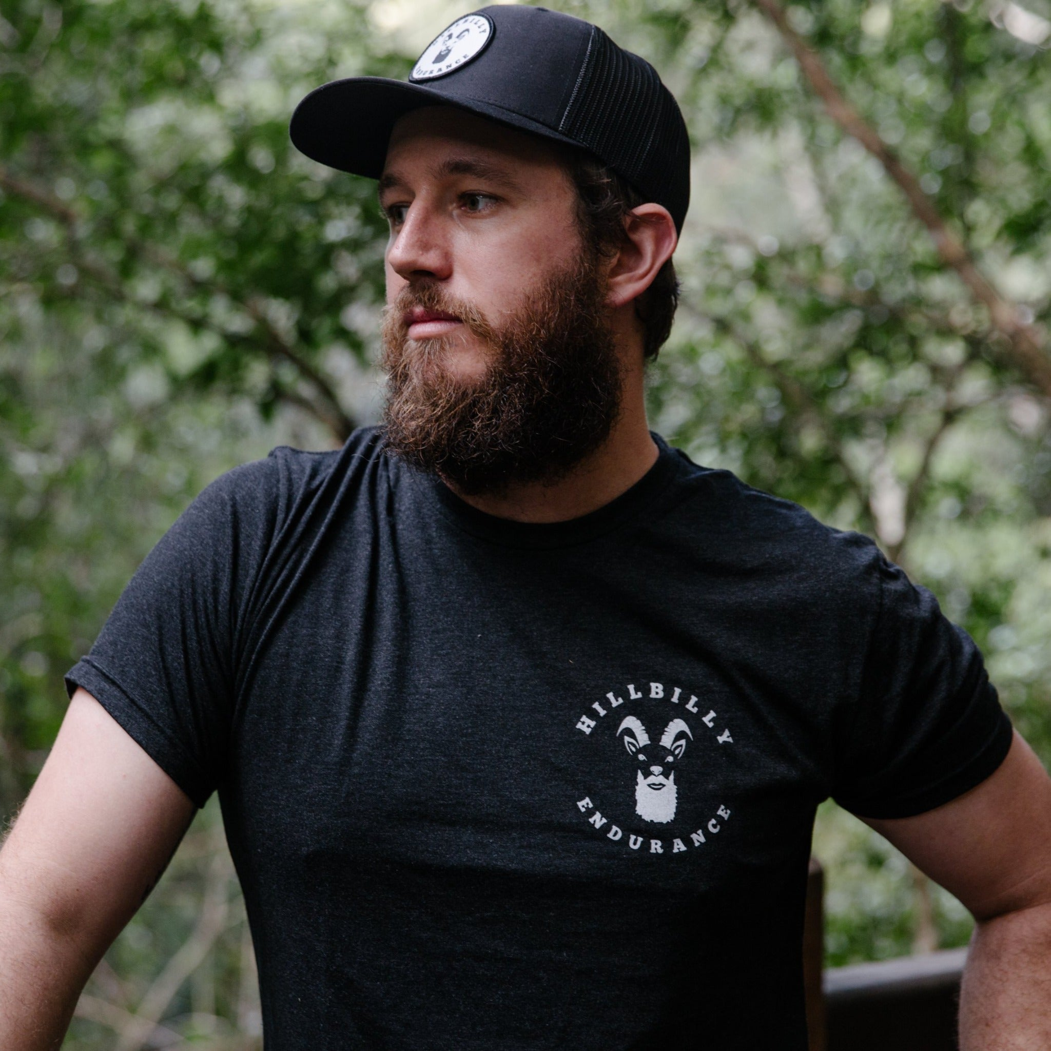 Men's Premium Tri blend everyday Hillbilly Logo T-shirt - HillBilly Endurance