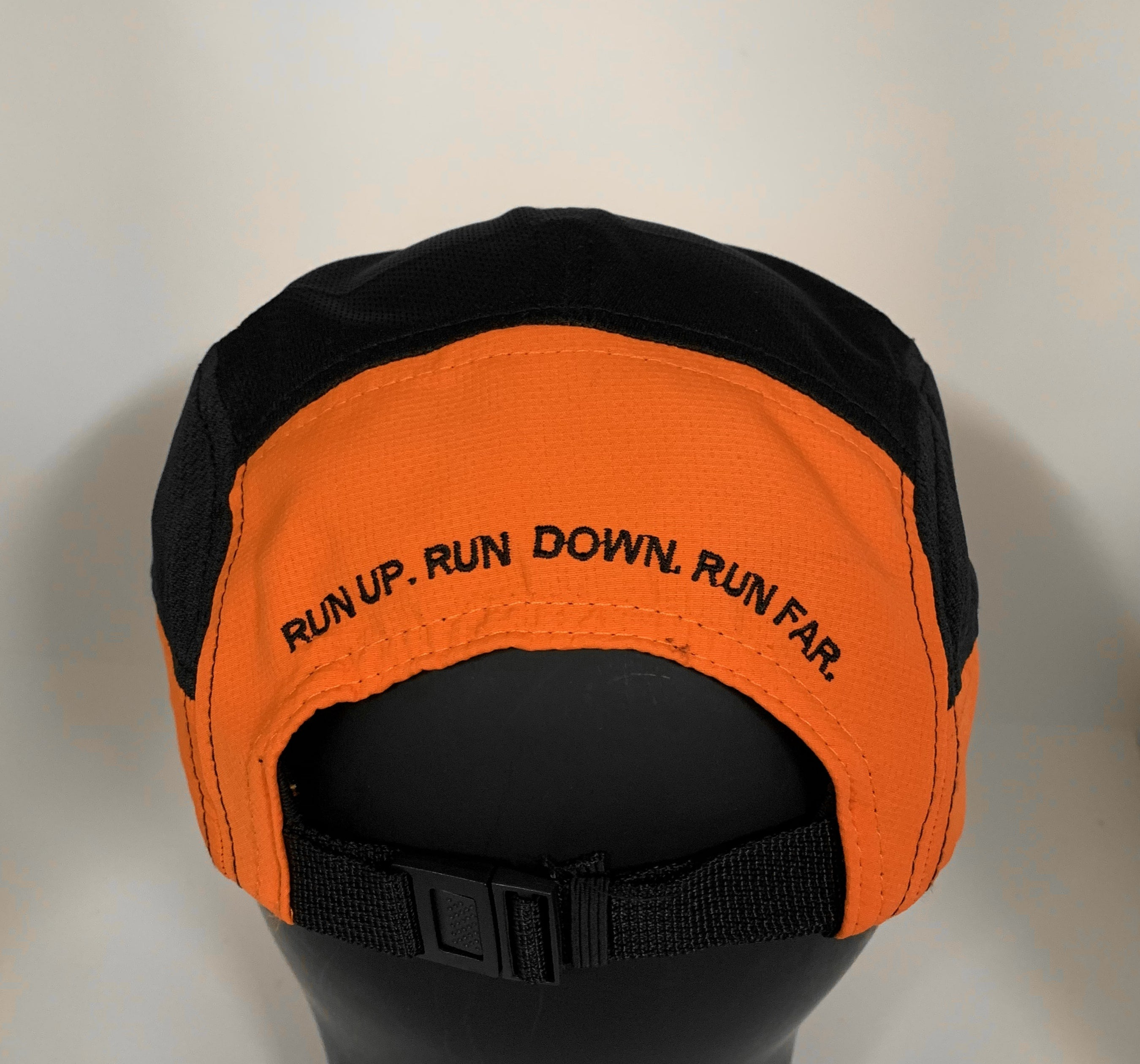 Hillbilly Endurance - Fractel Running Cap 'Orange/Black' - HillBilly Endurance