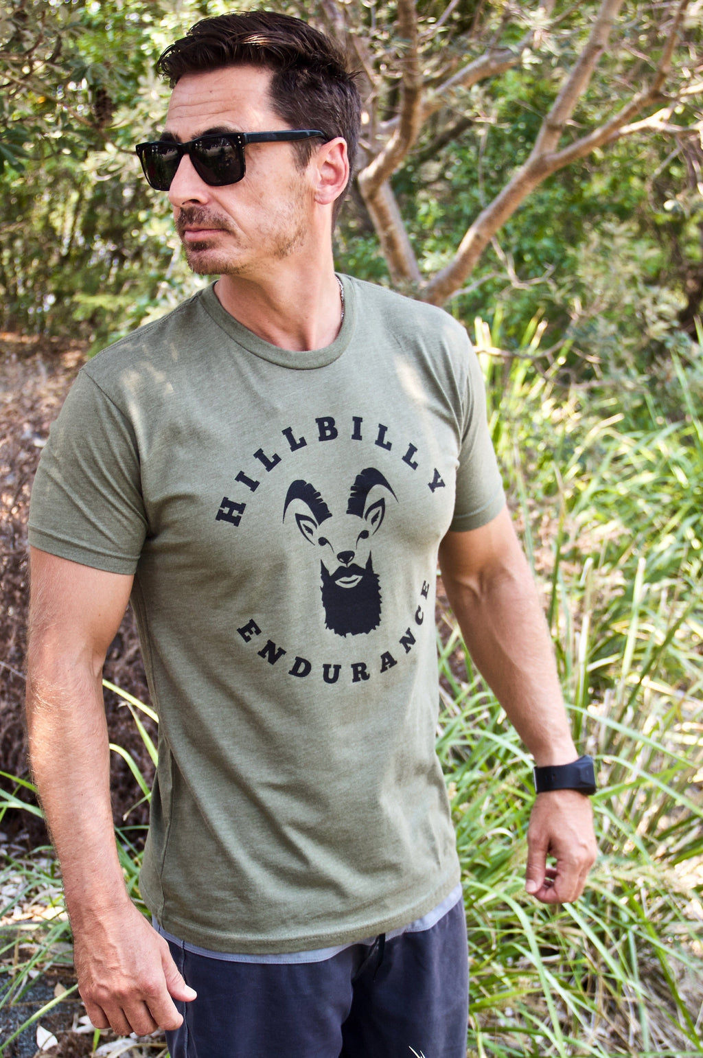 Men's Comfort Blend Tee - Casual wear T-shirt - HillBilly Endurance