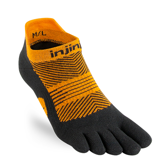 Injinji RUN Lightweight Womens  No-Show Toe sock - HillBilly Endurance