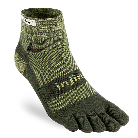 Injinji Toe - Sock TRAIL 2.0 Midweight Mini-Crew Unisex - HillBilly Endurance