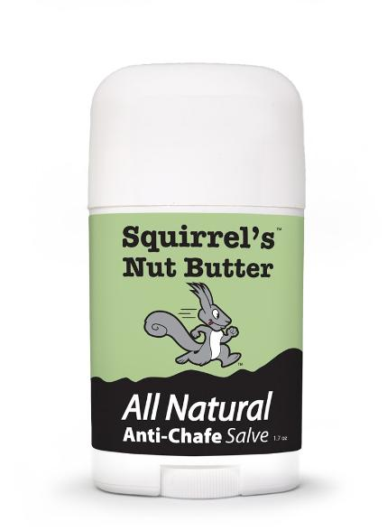 Anti-Chafe Squirrel's Nut Butter 1.7oz (48g) Stick - HillBilly Endurance