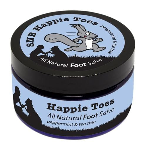 All Natural Foot Salve SNB Happie Toes 4oz (112g) - HillBilly Endurance