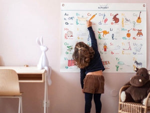 Alphabets in Children's Rooms