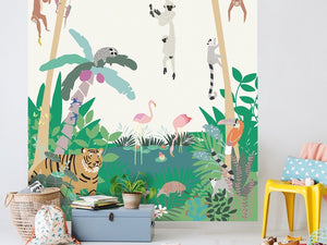 Jungle-Themed Bedroom Ideas