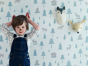 Wallpapers for Nurseries and Children's Spaces