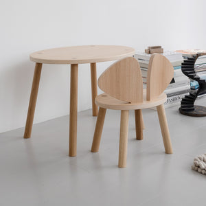 Mouse Table Oak by Nofred - minifili