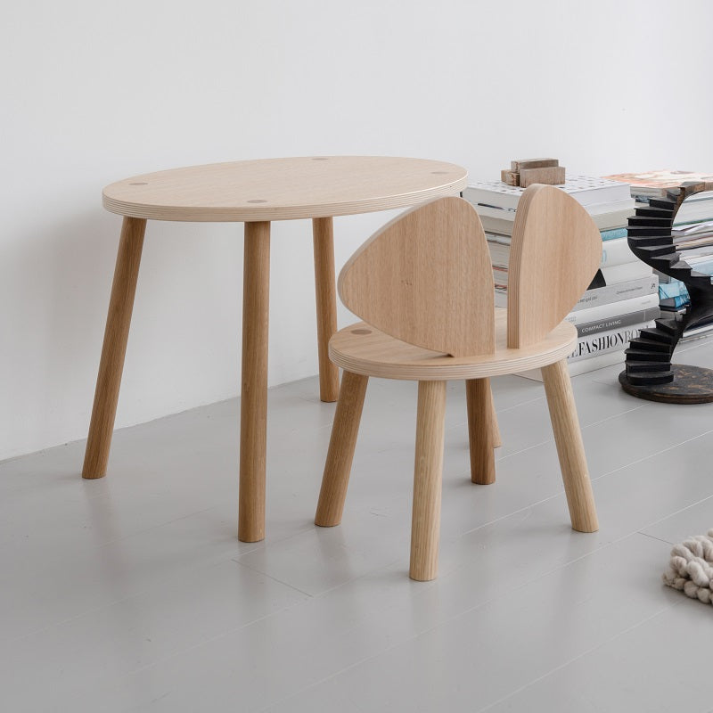 Mouse Chair Oak by Nofred - minifili