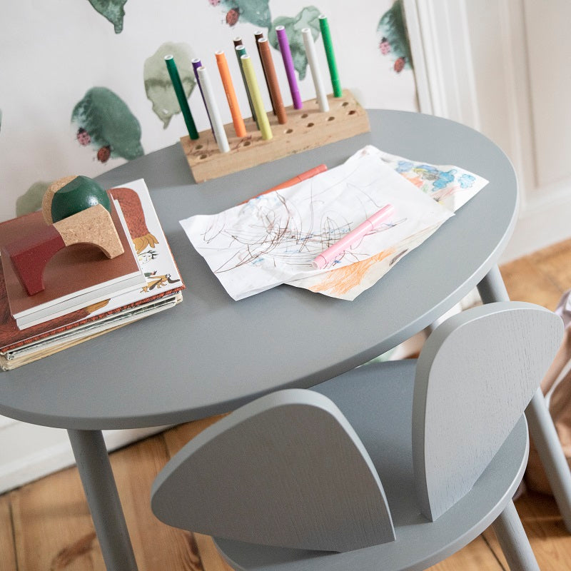 Mouse Table School Grey by Nofred - minifili