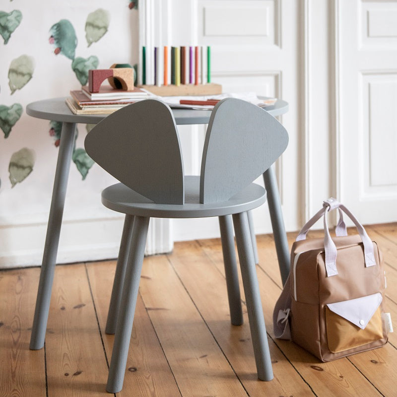 Mouse Chair School Grey by Nofred - minifili