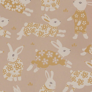 Garden Party Wallpaper Dusty Blush Pink by Majvillan - minifili