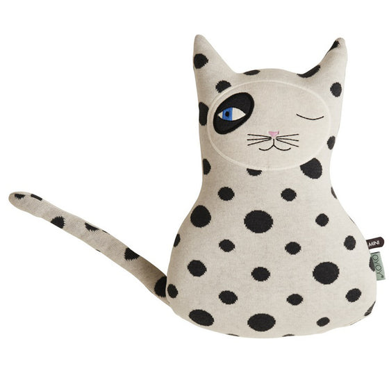 Zorro Cat Soft Toy Cushion
