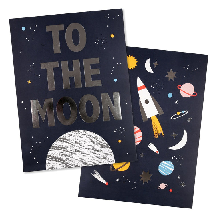 Space Prints (set of 2)