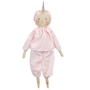 Unicorn Pyjamas Dolly Dress-Up Kit by Meri Meri - minifili