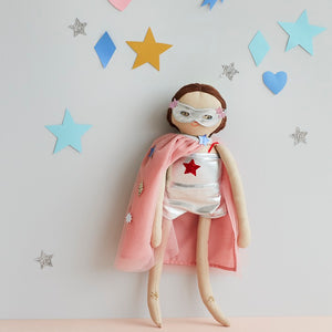 Super Hero Dolly Dress-Up Kit by Meri Meri - minifili