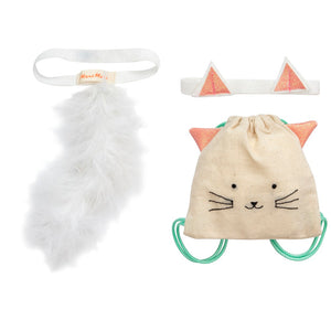 Cat Backpack Dolly Dress-Up Kit