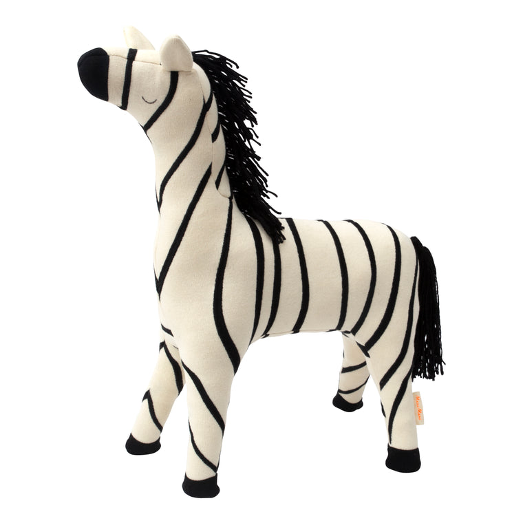 Ray Zebra Soft Toy