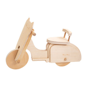 Dolly Wooden Moped by Meri Meri - minifili
