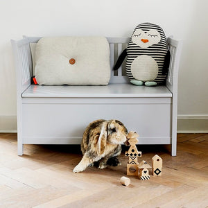Penguin Pingo Soft Toy Cushion by OYOY Mini - minifili