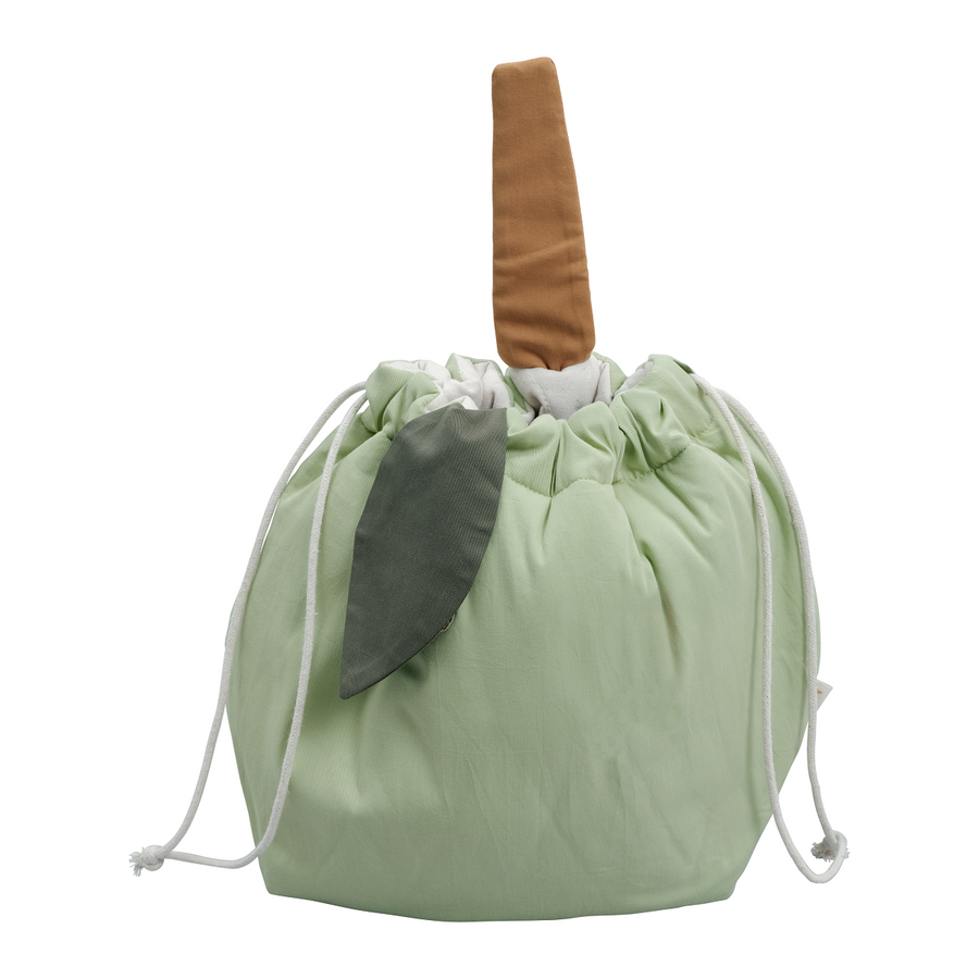 Storage Bag Green Apple by Fabelab - minifili