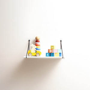 Mini Babou Shelf White by Rose in April - minifili