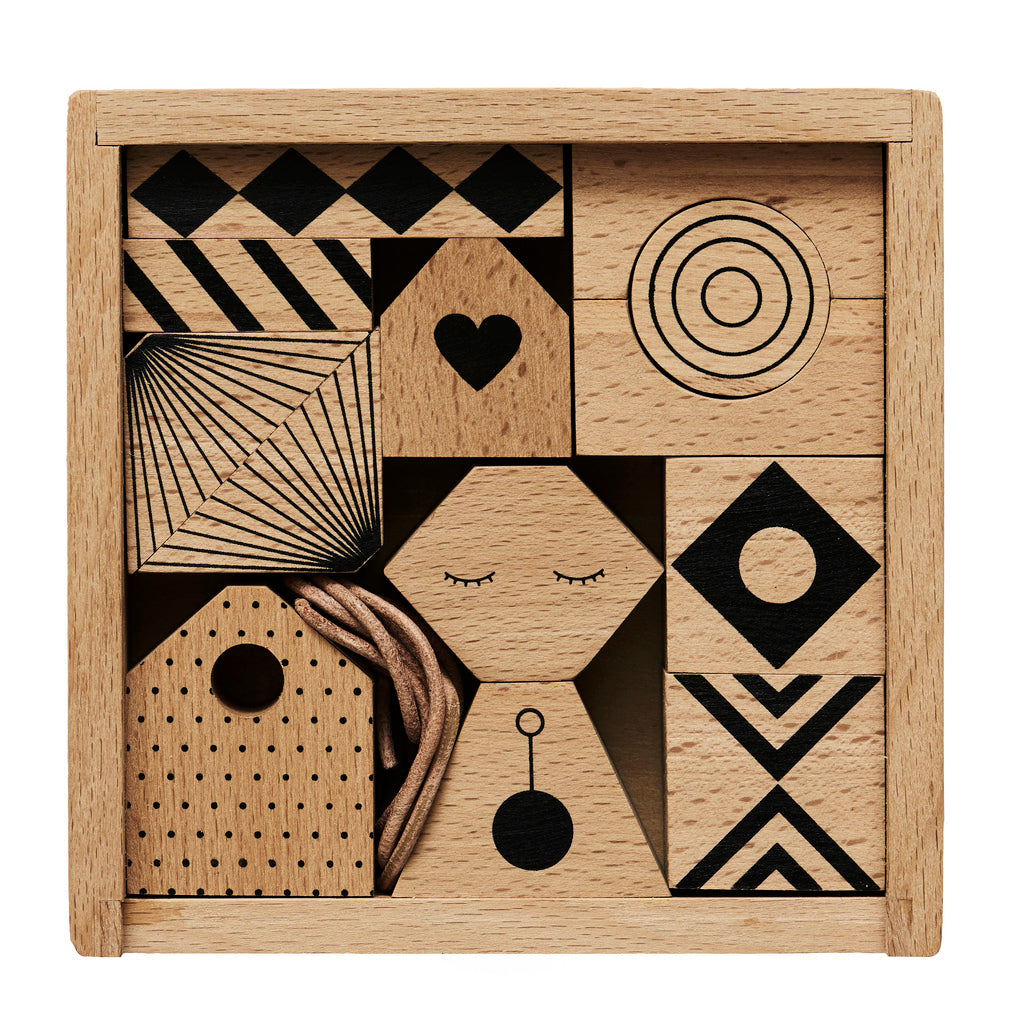 OYOY Mini - Puzzle Me Wooden Mobile