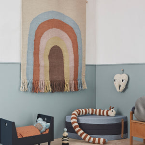 Follow the Rainbow Wall Rug by OYOY Mini - minifili