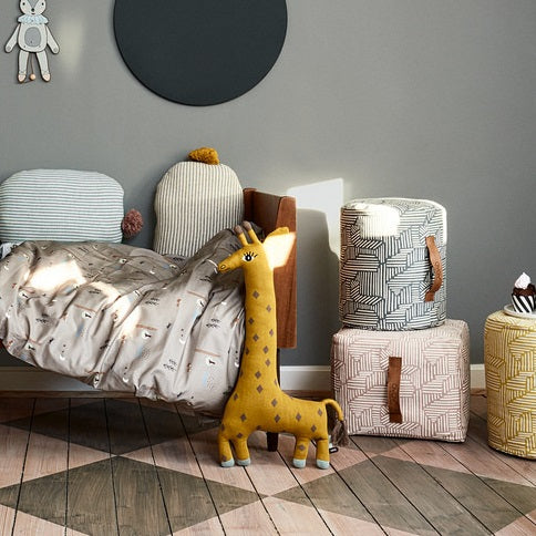 Noah The Giraffe Soft Toy Cushion by OYOY Mini - minifili