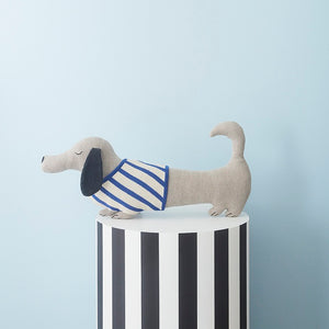 Slinkii Dog Soft Toy Cushion by OYOY Mini - minifili