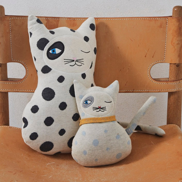 OYOY Mini - Zorro Cat Soft Toy Cushion