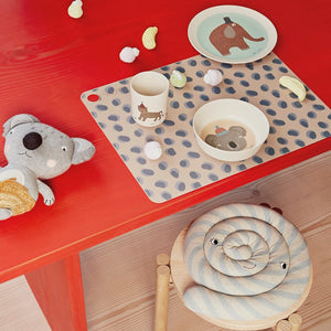 Leopard Dots Placemat (Set of 2) by OYOY Mini - minifili