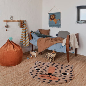 Leopard Rug by OYOY Mini - minifili