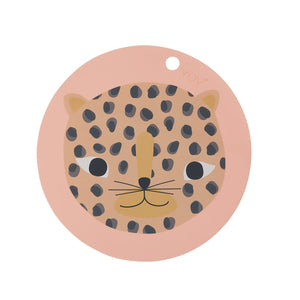 Snow Leopard Placemat by OYOY Mini - minifili