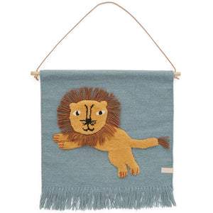 Lion Wall Hanging by OYOY Mini - minifili
