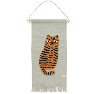 Tiger Wall Hanging by OYOY Mini - minifili