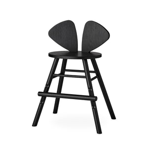 Mouse Chair Junior Black by Nofred - minifili