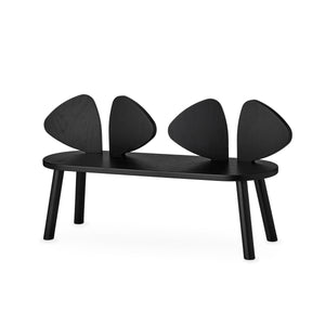 Mouse Bench Black by Nofred - minifili