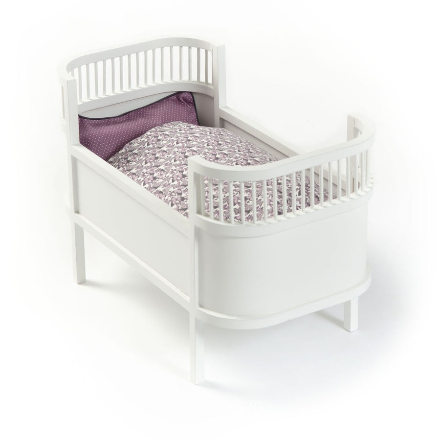 Rosaline Doll Cot White by Smallstuff - minifili