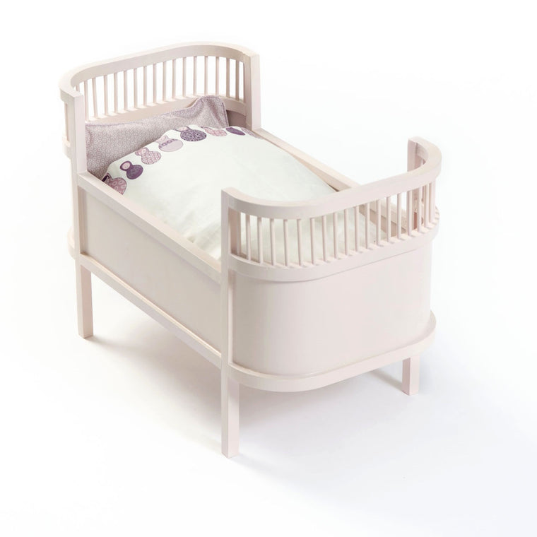 Rosaline Doll Cot Rose