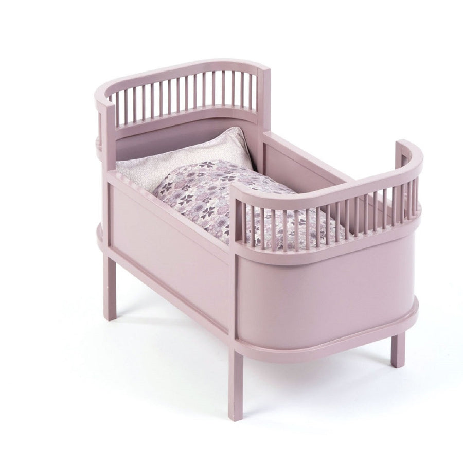 Rosaline Doll Cot Powder by Smallstuff - minifili