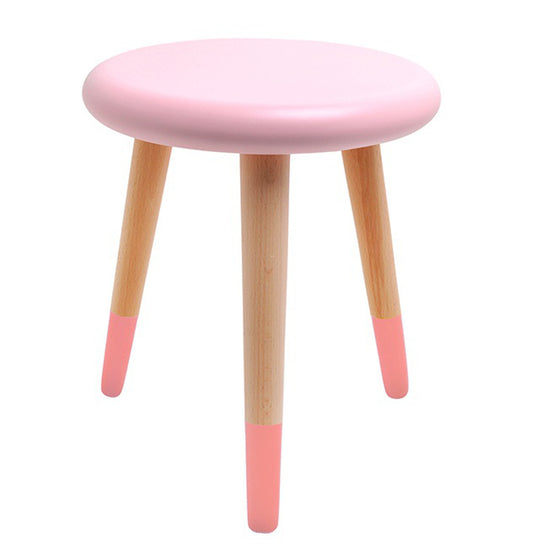 Alice Stool Light Pink Coral Pink
