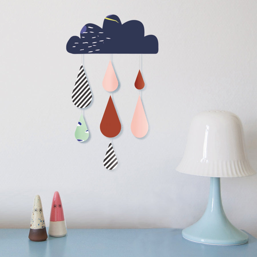 Just a Touch - Cloud Mobile Wall Sticker