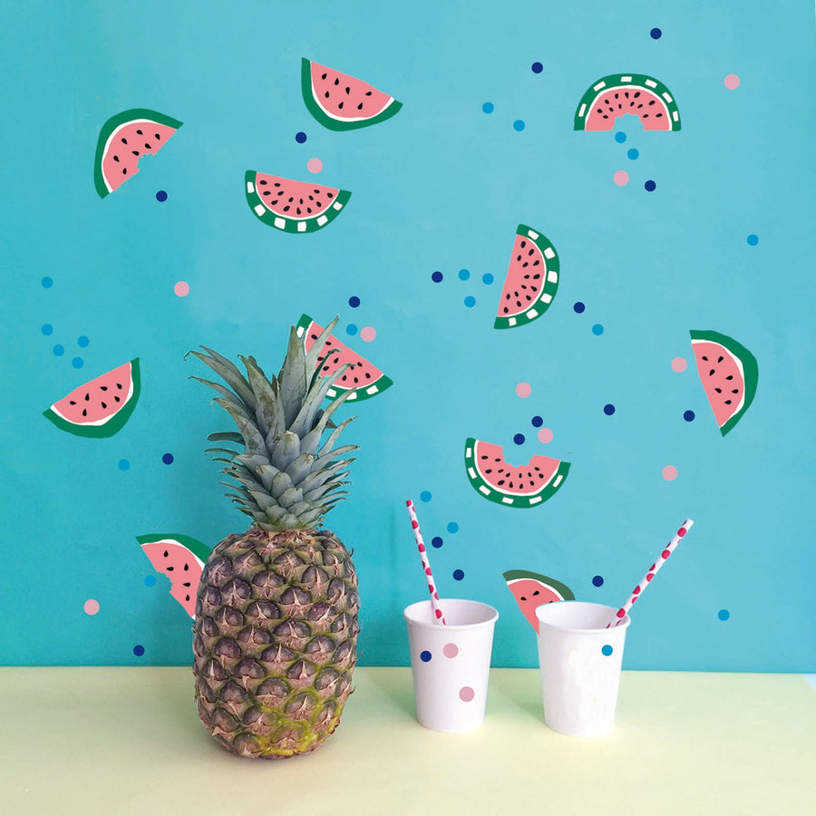 Just a Touch - Watermelon Wall Sticker by MIMI'lou - minifili