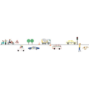 Traffic Wall Decal by MIMI'lou - minifili
