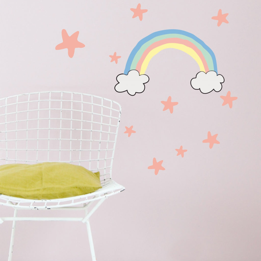 MIMI'lou - Just a Touch - Rainbow Wall Sticker