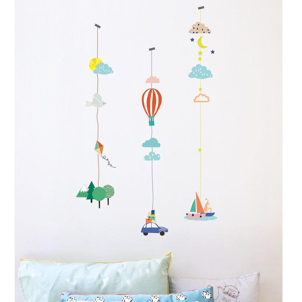 MIMI'lou - Things that Go Wall Decal
