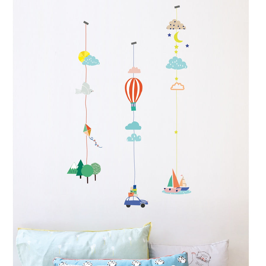Things That Go Wall Decal by MIMI'lou - minifili